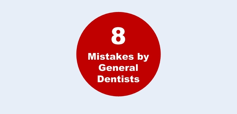 8 Mistakes General Dentists sphere