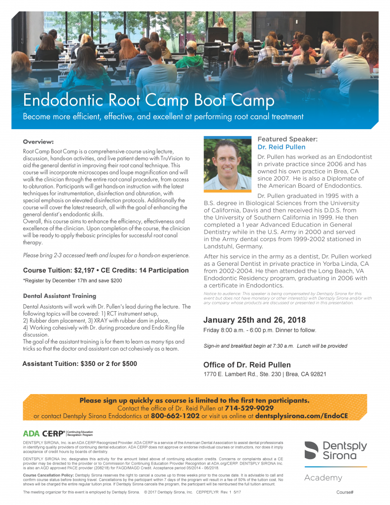 Root Camp Boot Camp January 2019